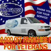 $10,000 Off Franchise Fee for Veterans