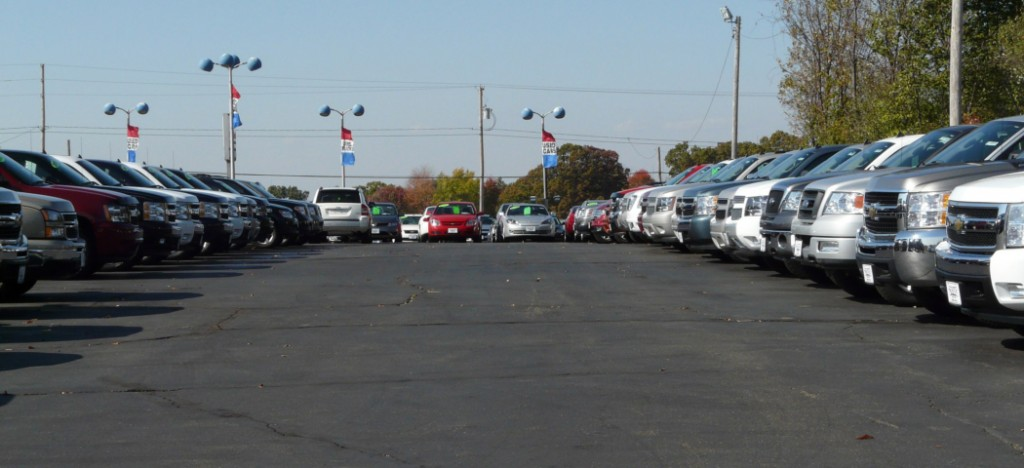 Dealership lot
